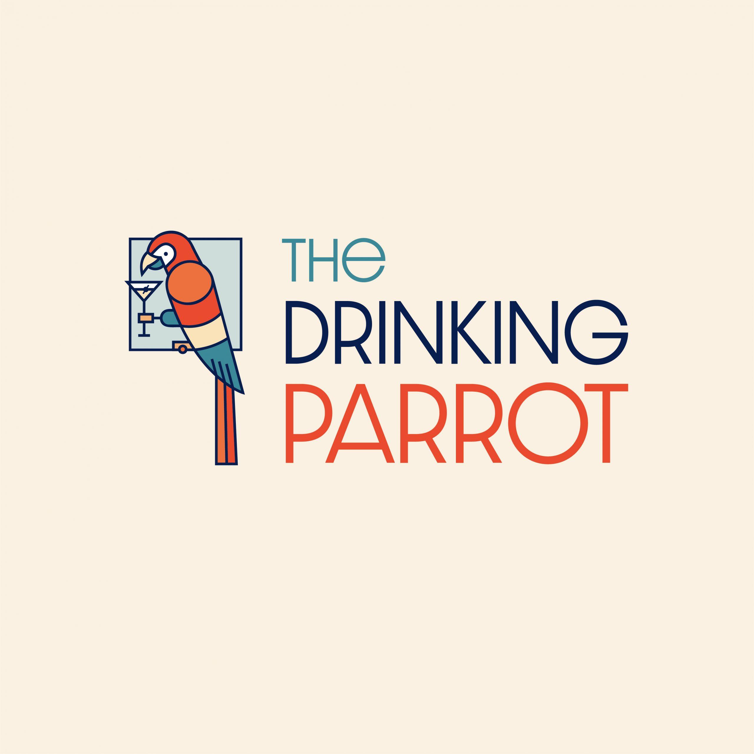 Drinking Parrot Logo